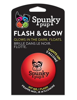 Spunky Pup® Flash & Glow Ball