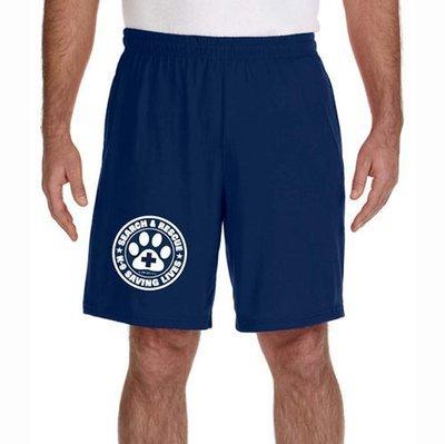 Shorts (Dri-Wear): SAR K-9 All Breed
