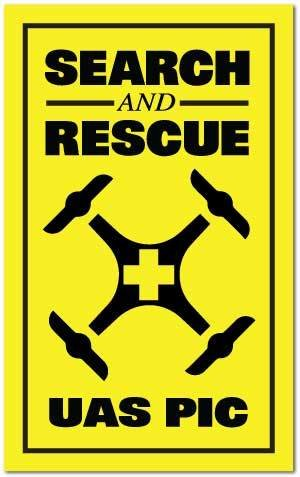 Reflective Patch: SAR UAS PIC
