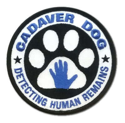 Embroidered Patch: CADAVER DOG