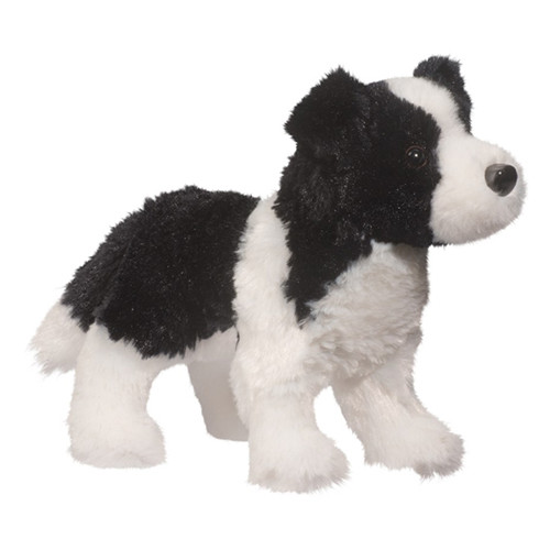Plush Pup Standing: Border Collie
