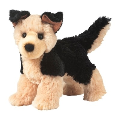 Plush Pup Standing: German Shepherd