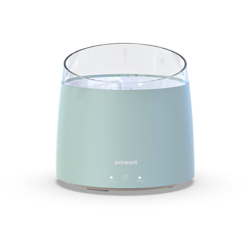 Chytrá fontána s filtrací a UV sterilizací - zelená