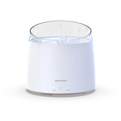 Chytrá fontána s filtrací a UV sterilizací - bílá