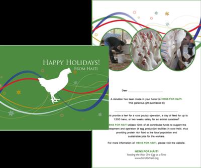 $10 Alternative Gift Card - Hen