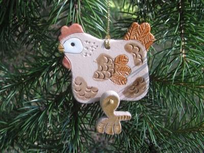 2016 Hens for Haiti Holiday Ornament