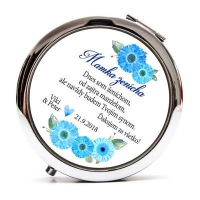 Mamka ženícha - Gerbery modré