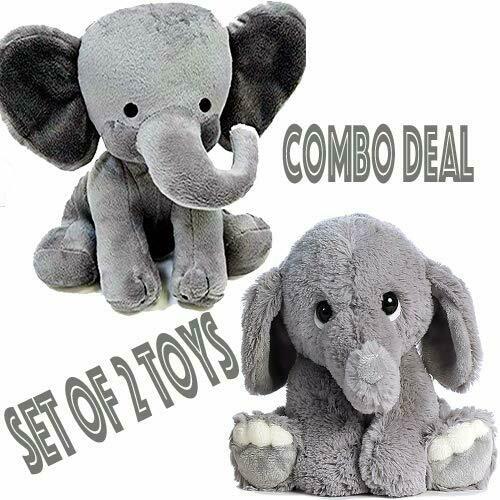 GRFIL ZERO 2 of Elephant Plush Toy Combo