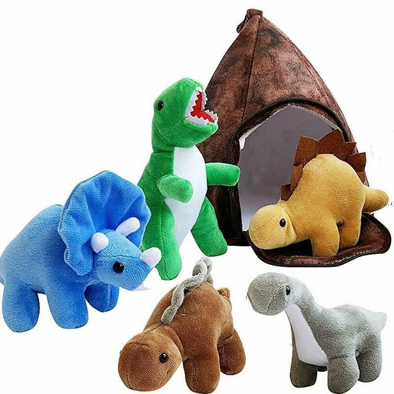GRIFIL ZERO Dinosaur Stuffed Animal Set of 5 and Mountain House