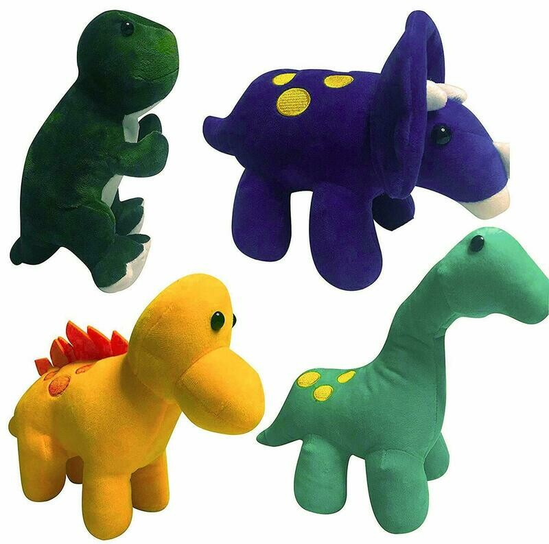 GRIFIL ZERO Plush Dinosaurs Stuffed Animal Family 4 Pack