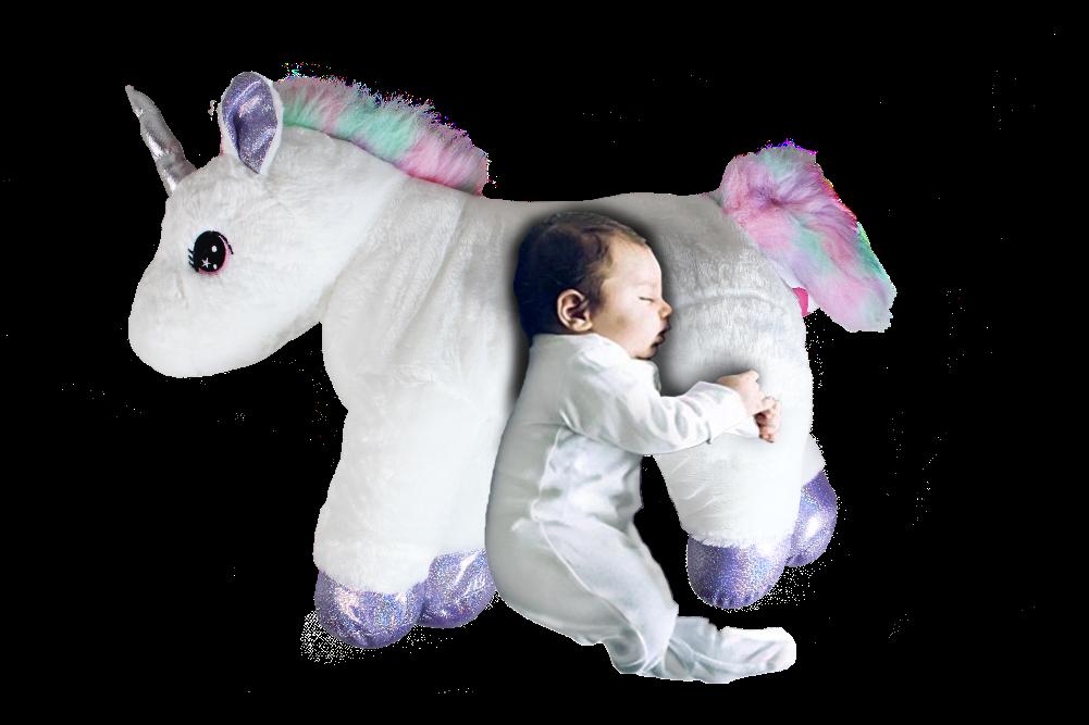 Grifil Zero Unicorn Extra Large Size Animal Plush Doll Toy