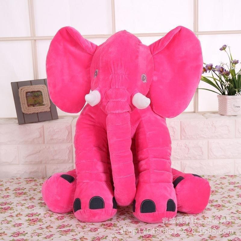 Extra Large Elephant Plush Toy Pink ELEP002 X 12 Pieces