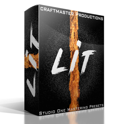 LIT Mastering Presets for Studio One
