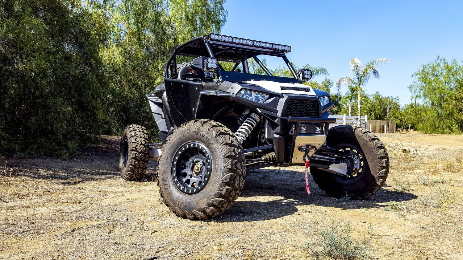 Polaris RZR XP1000 2-Seat Stock Point Roll Cage