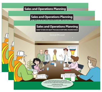 5-Pack:  Sales and Operations Planning: How to run a S&OP process everyone understands