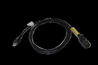 Cable between Matrix/Scout data logger and a USB computer port