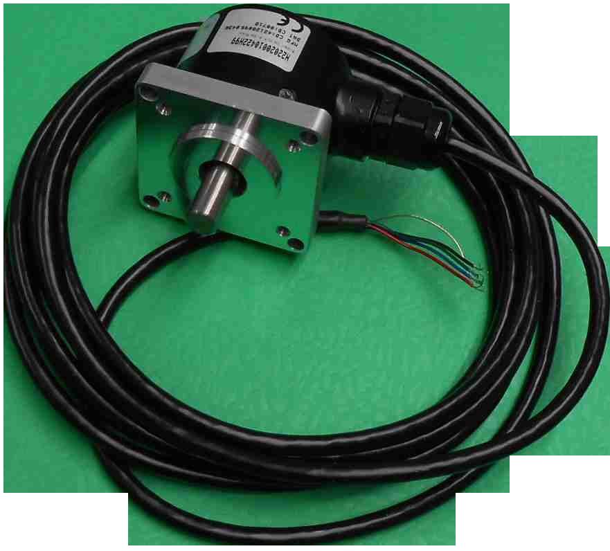 Encoder, Quadrature, 200 ppt,  5-26 VDC