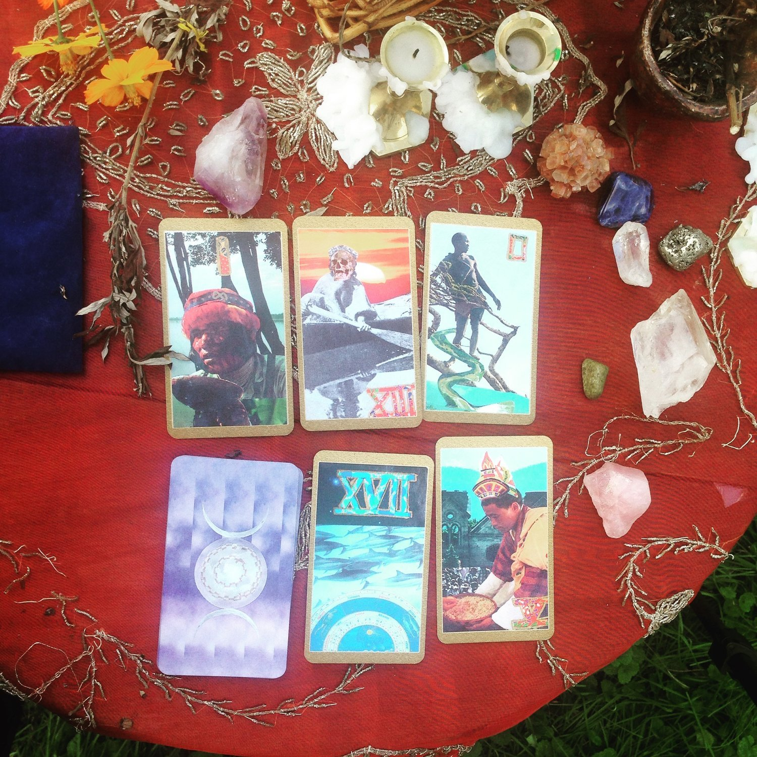The Summer Tarot Deck