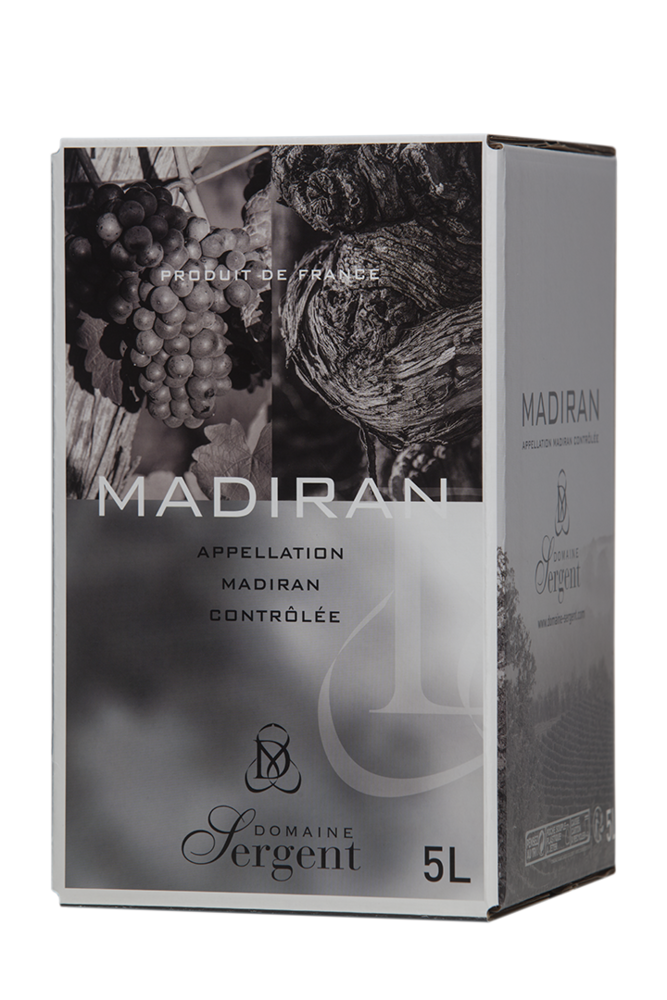 Madiran Cuvée Tradition - Outre à vin 5 Litres - Millésime
