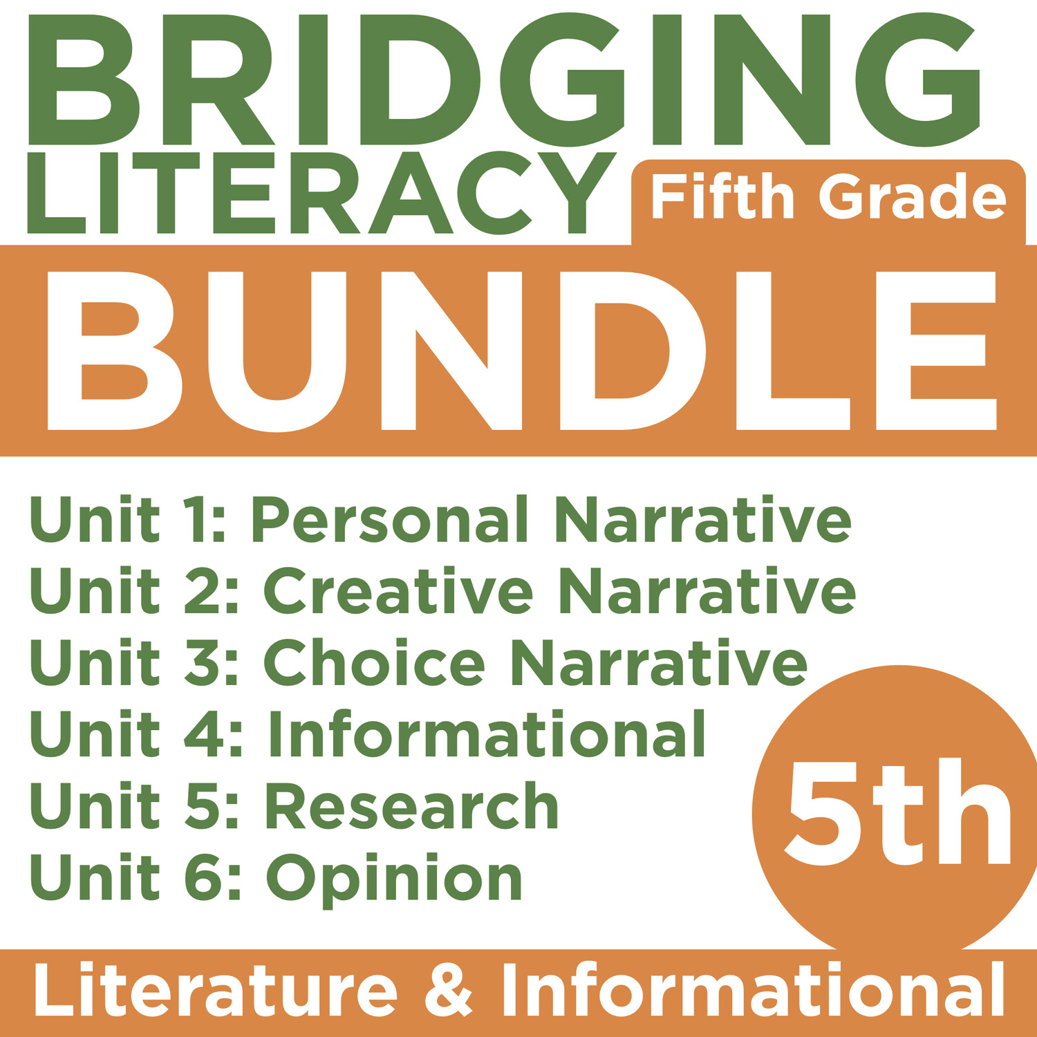 (COMING SOON) BL: Grade 5 BUNDLE