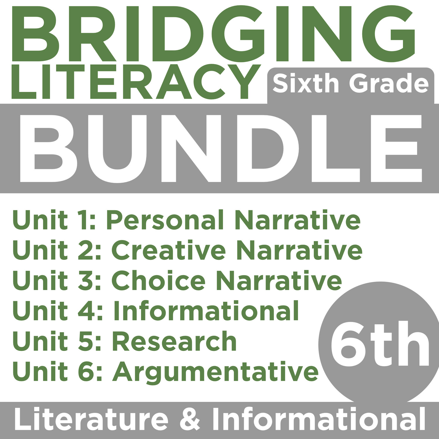 (COMING SOON) BL: Grade 6 BUNDLE