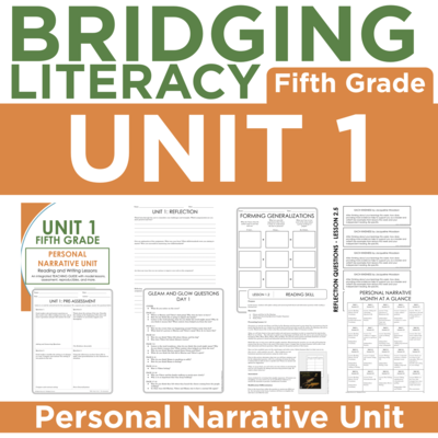 BL: 5th Grade - Unit 1
