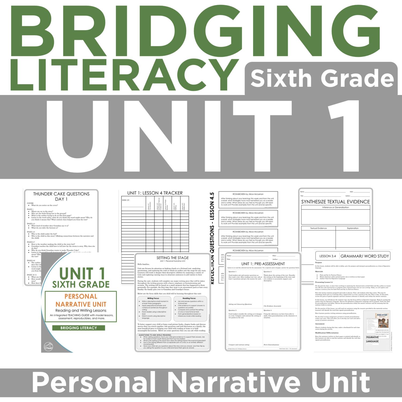 BL: 6th Grade - Unit 1
