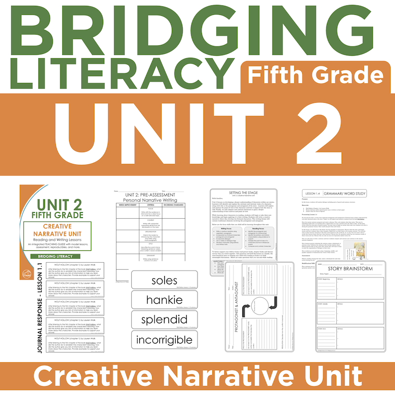 BL: 5th Grade - Unit 2