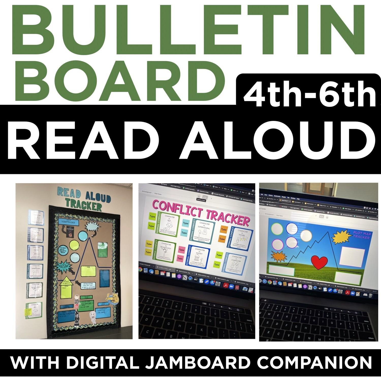 Read Aloud Bulletin Board Tracker | JAMBOARD Digital Companion