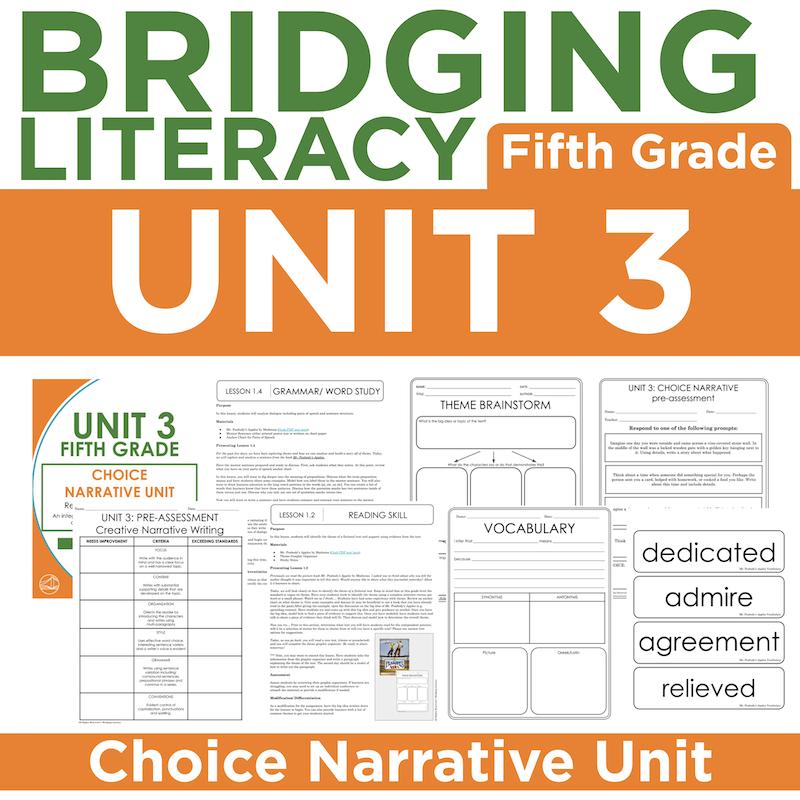 BL: 5th Grade - Unit 3