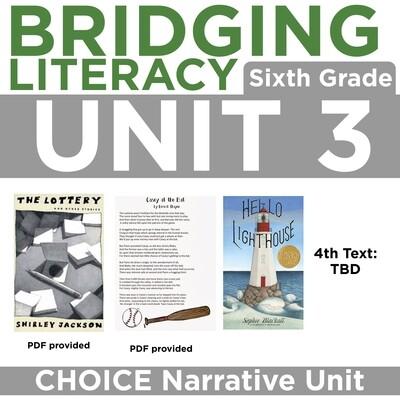 BL: 6th Grade Unit 3