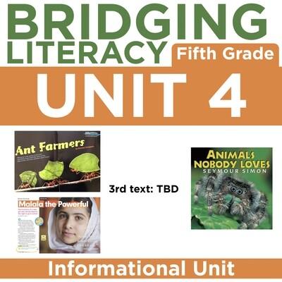BL: 5th Grade - Unit 4
