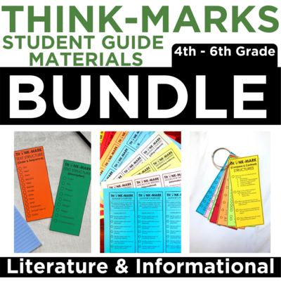 Think-Marks Bundle: Literature and Informational