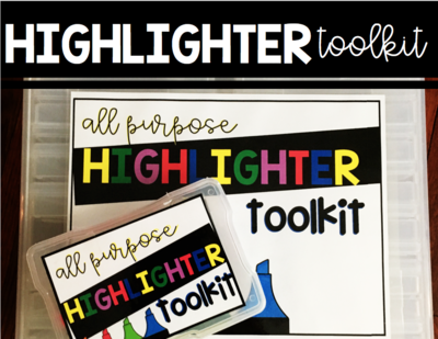 Highlighter Toolkit (All Purpose)