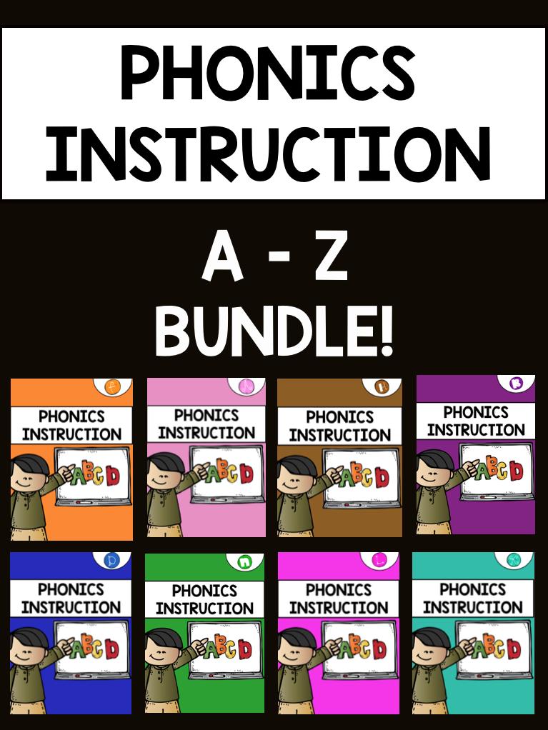 A-Z Phonics Bundle