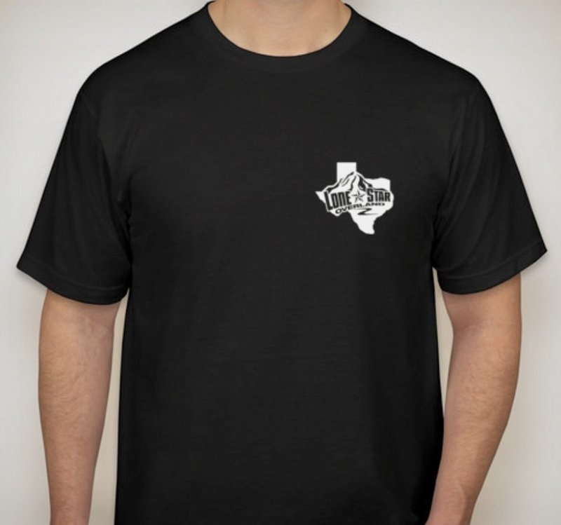 LSO Shirt - Black with White LSO Logo