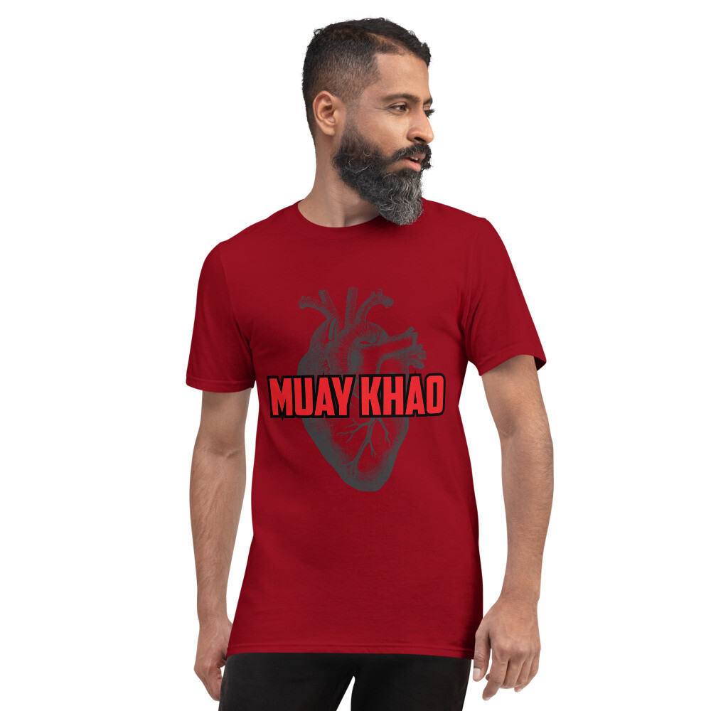 Muay Khao Heart Shirt - Red
