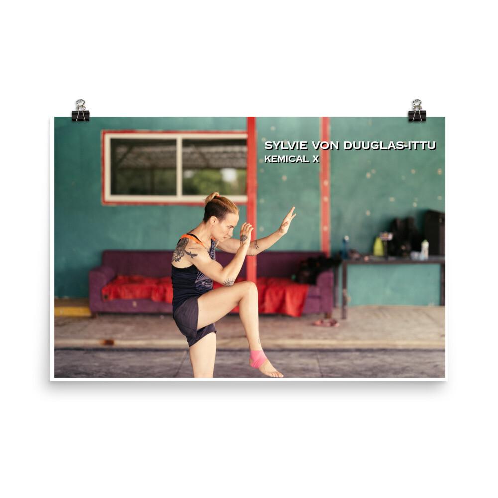 Sylvie Shadowboxing Poster