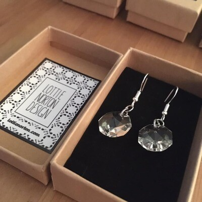 Chandelier Earrings with 925 Silver hook