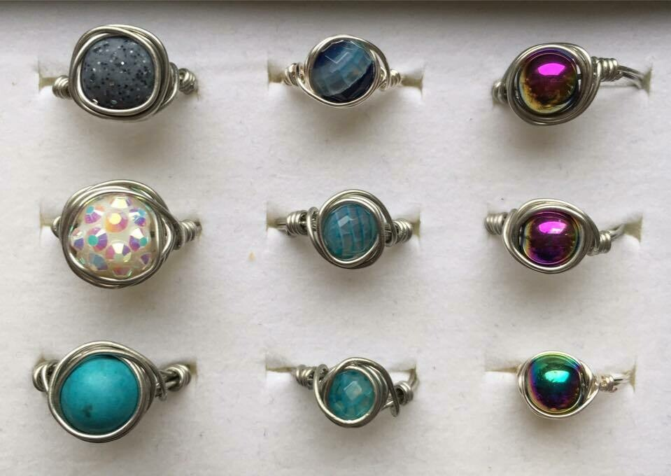 Wire Bead Rings