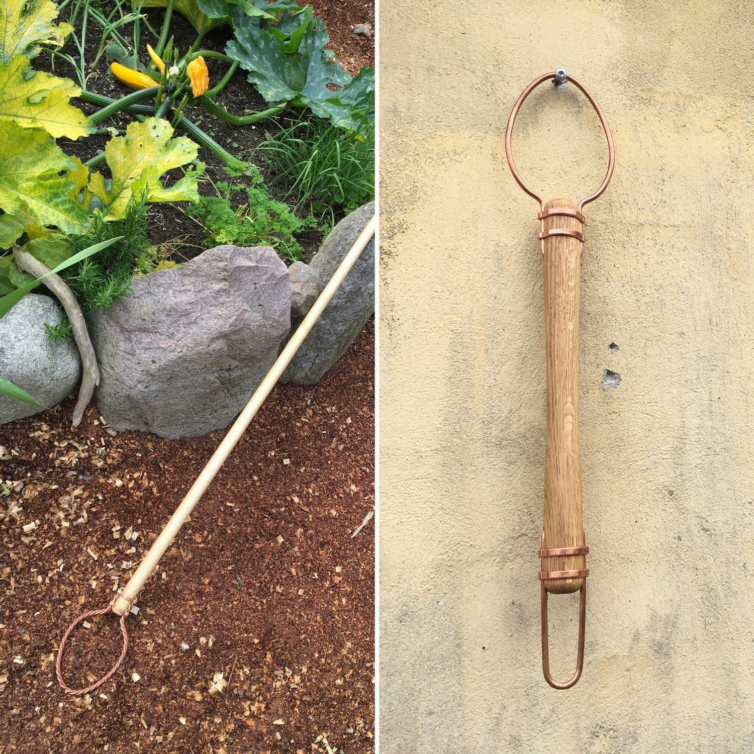 Complete set: one long and one short Gardenscepter