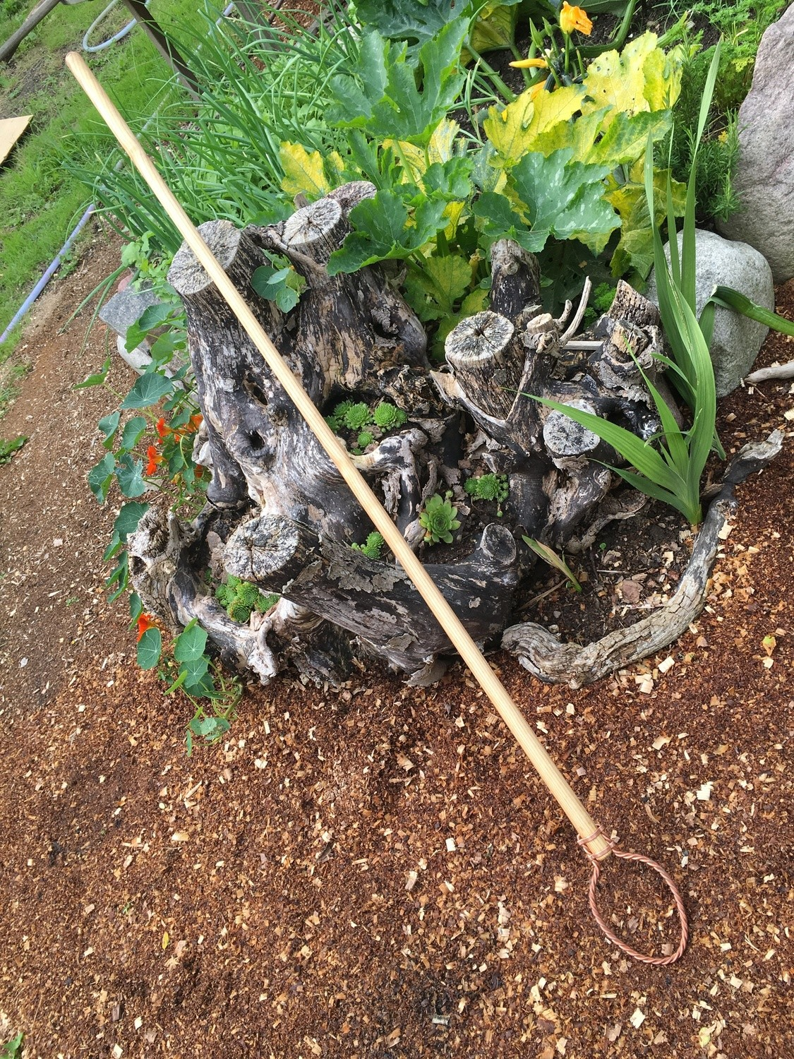 Gardenscepter, long shaft
