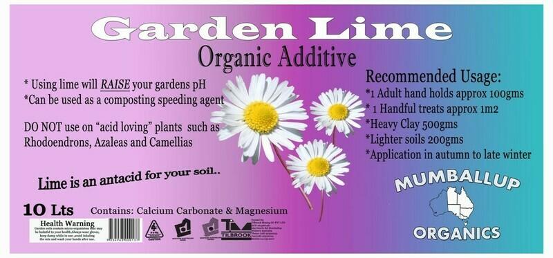 Garden Lime Bucket
