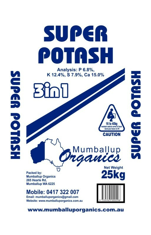 Super Potash 3 in 1 - 25kg