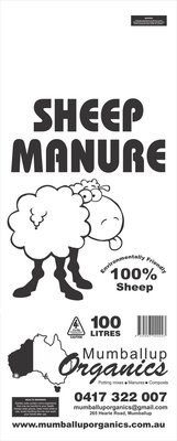 Sheep Manure 100 Liters