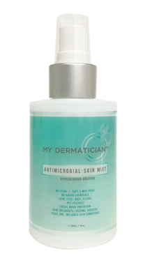 My Dermatician Antimicrobial Skin Mist 4oz.