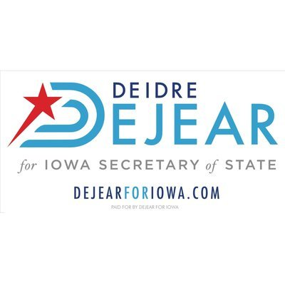 DeJear for Iowa Bumper Sticker