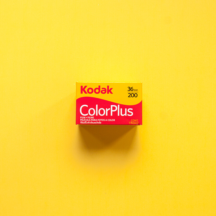 Kodak Colorplus 200 36exp 35mm