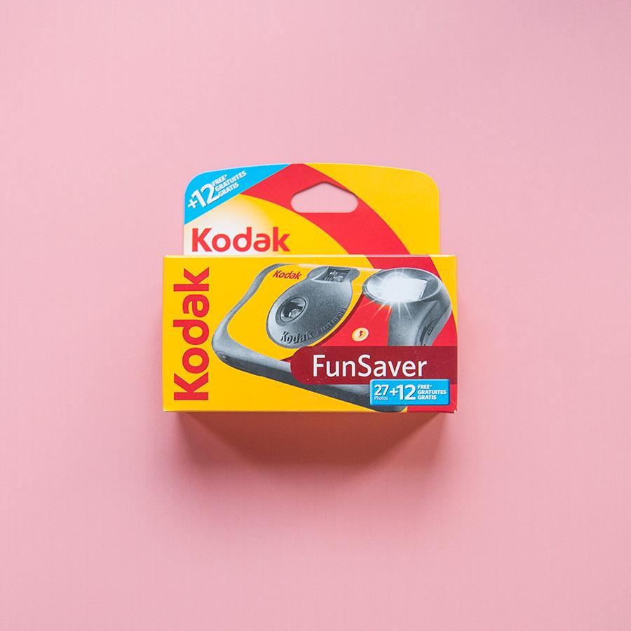 Kodak Funsaver Disposable Camera 27+12exp
