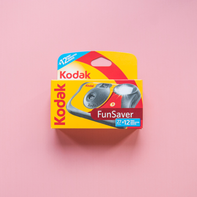 Kodak Funsaver Disposable Camera 27+12exp